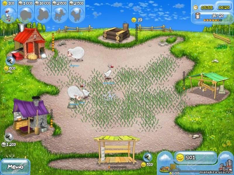 Игра Веселая ферма, скачать игру Веселая ферма бесплатно - www.game